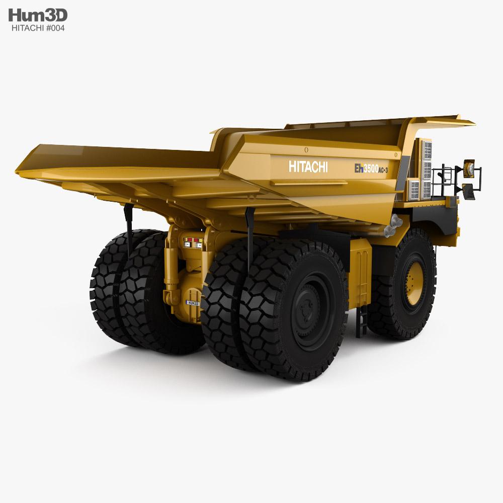 Hitachi EH3500AC-3 Dump Truck 2020 3d model