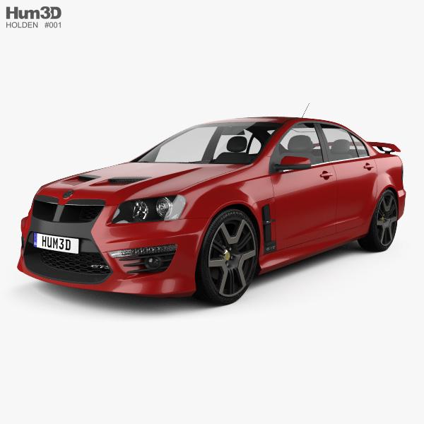 HSV GTS 2012 3D model