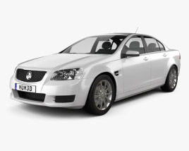 3D model of Holden Commodore VE Sedan 2012