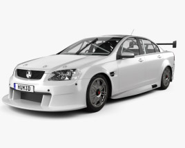 3D model of Holden Commodore V8 Supercar 2012
