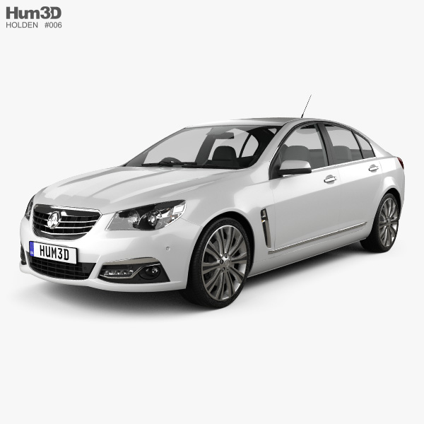Holden VF Commodore Calais V sedan 2013 3D model