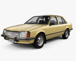 3D model of Holden Commodore 1980