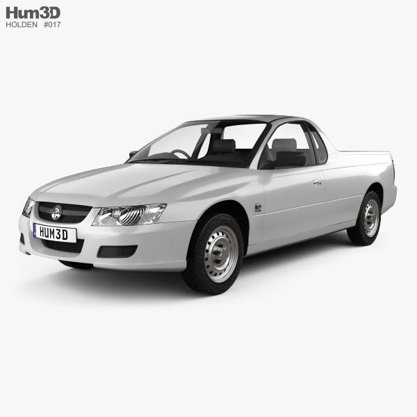 Holden VZ Ute 2004 3D model