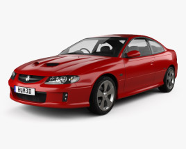 3D model of Holden Monaro (VZ) CV8-Z 2005