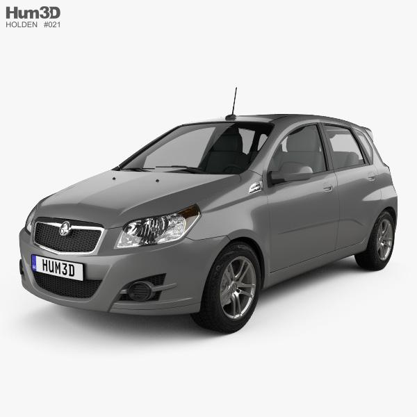 Holden Barina (TK) hatchback 2008 3D model