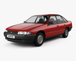 3D model of Holden Commodore 1988