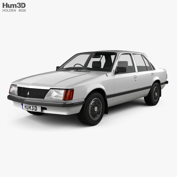 Holden Commodore 1981 3D model