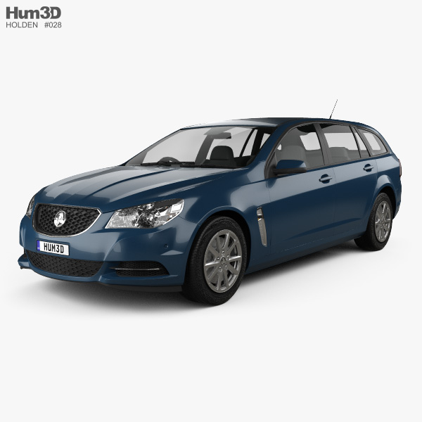 Holden Commodore Evoke sportwagon 2013 3D model