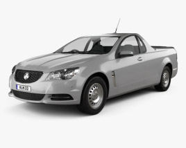 3D model of Holden Commodore Evoke ute 2013