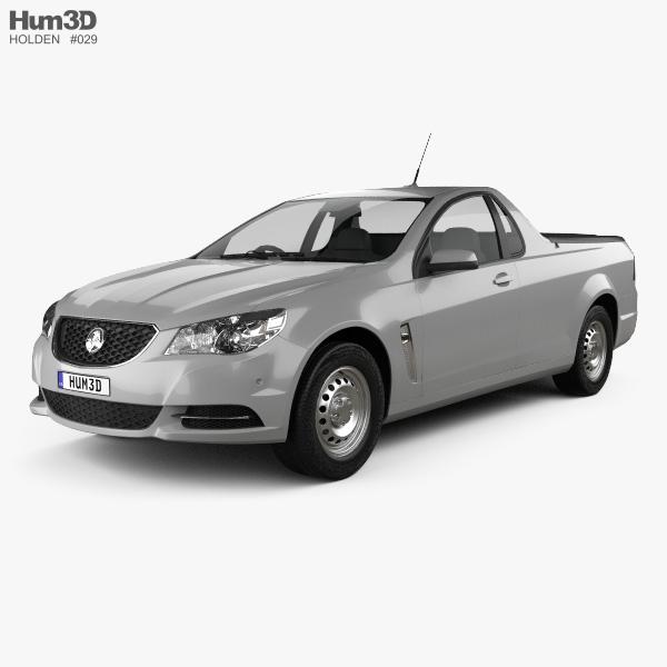 Holden Commodore Evoke ute 2013 3D model