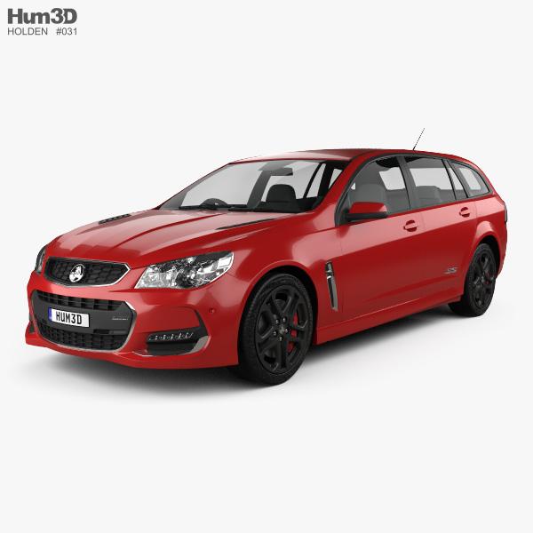 Holden Commodore SS-V Redline Sportwagon 2015 3D model