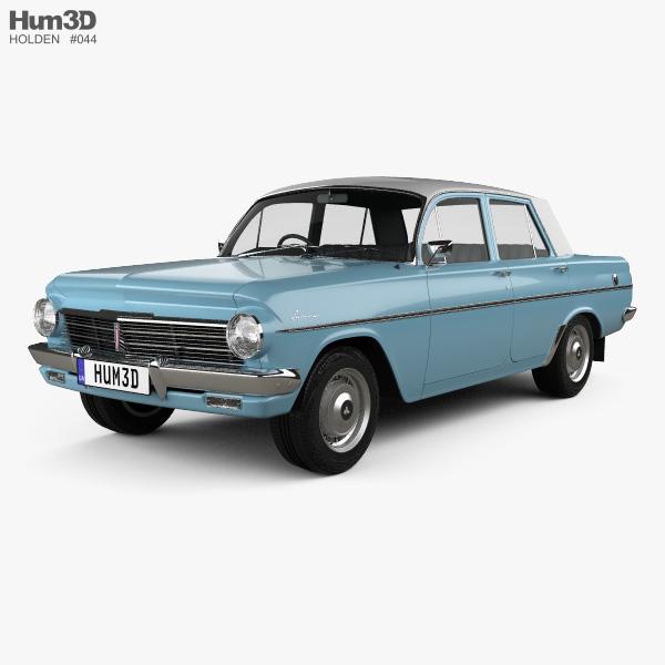 Holden Special (EH) 1963 3D model