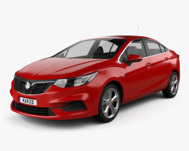 3D model of Holden Astra LTZ 2017