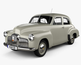 3D model of Holden 48-215 sedan 1948