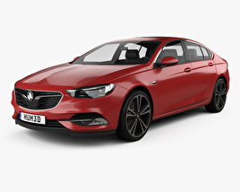 3D model of Holden Commodore ZB 2017