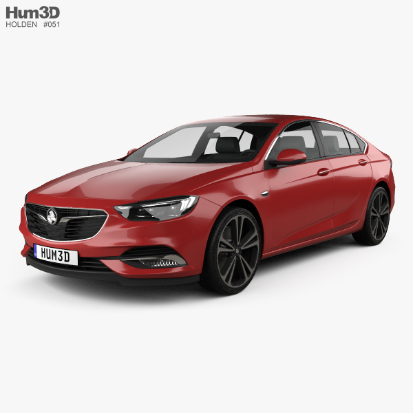 Holden Commodore ZB 2017 3D model