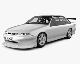 3D model of Holden Commodore Race Car 1993