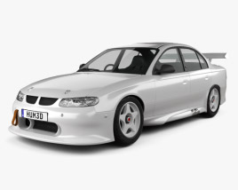 3D model of Holden Commodore Race Car sedan 1997