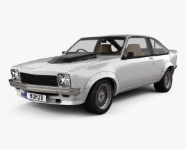3D model of Holden Torana A9X with HQ interior 1977