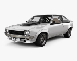 Holden Torana A9X Race with HQ interior 1979 3D model