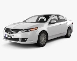 3D model of Honda Accord sedan