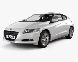 3D model of Honda CR-Z (ZF1) 2011