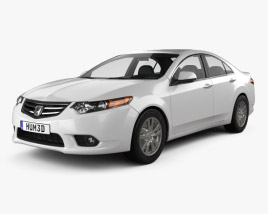 3D model of Honda Accord Sedan 2011