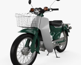 3D model of Honda Super-Cub 1971