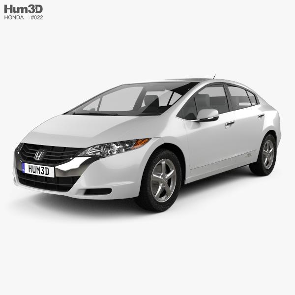 Honda FCX Clarity 2010 3D model