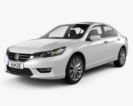 3D model of Honda Accord (Inspire) 2013