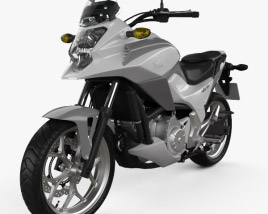 3D model of Honda NC700X 2012