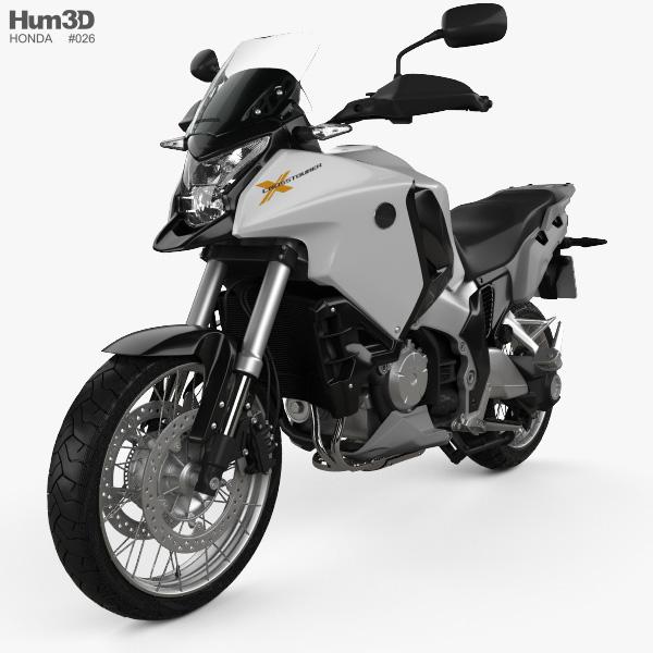 Honda VFR1200X 2012 3D model