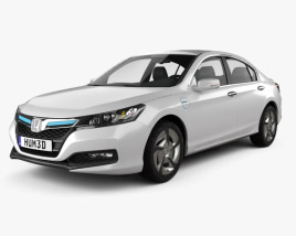 3D model of Honda Accord PHEV 2014