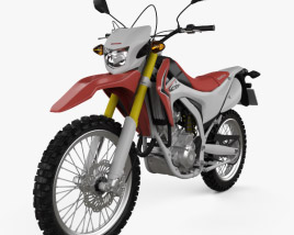 3D model of Honda CRF250L 2013
