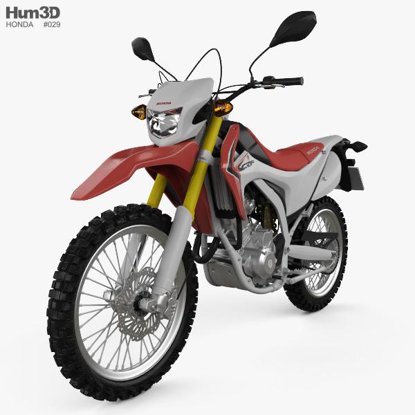 3D model of Honda CRF250L 2013