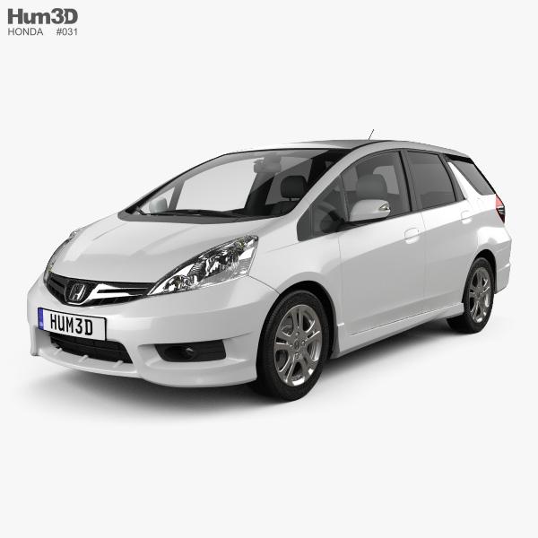 Honda Fit (Jazz) Shuttle 2012 3D model