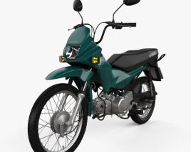 3D model of Honda POP 100 2012