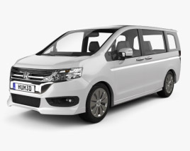 Honda Stepwgn RK 2012 3D model