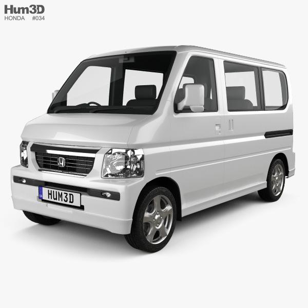 Honda Vamos HM2 2012 3D model