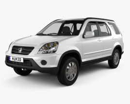 3D model of Honda CR-V 2002