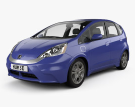 3D model of Honda Fit (Jazz) EV 2013