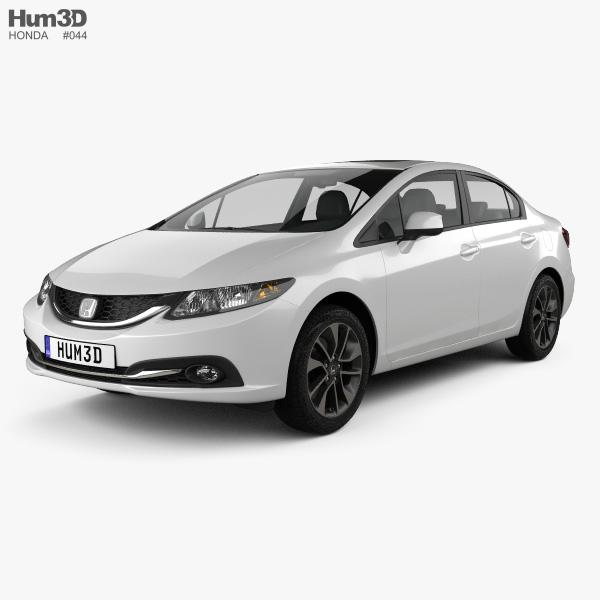 Honda Civic sedan 2013 3D model