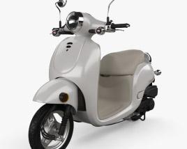 3D model of Honda Metropolitan (CHF50) 2013