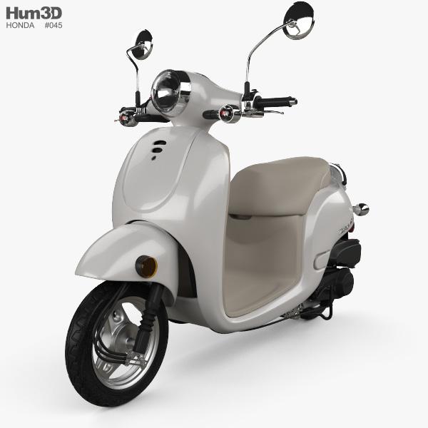 Honda Metropolitan (CHF50) 2013 3D model