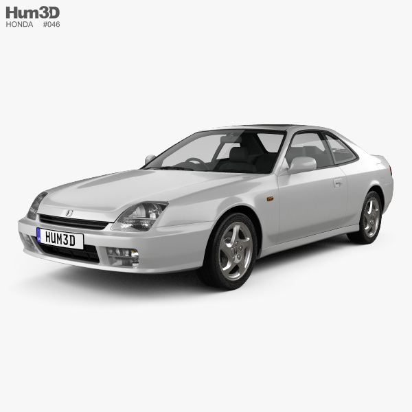 Honda Prelude (BB5) 1997 3D model