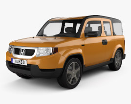 3D model of Honda Element EX 2008