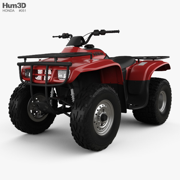 Honda FourTrax Recon 2001 3D model