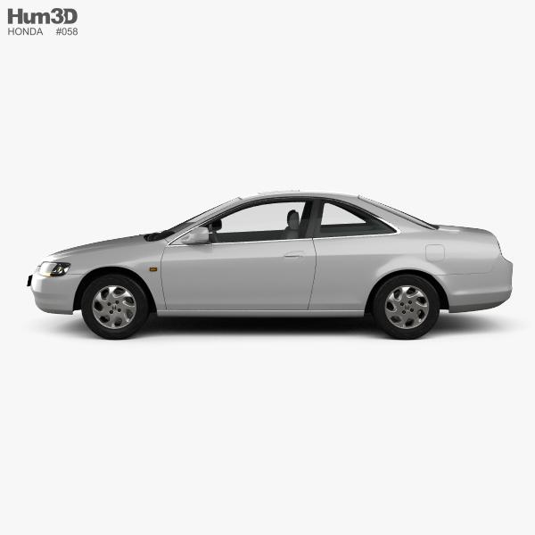 Honda Accord coupe 1998 3D model