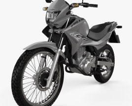 Honda NX 400i Falcon 2014 3D model