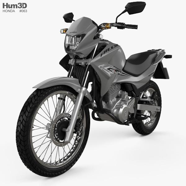 Honda NX 400i Falcon 2014 3D model